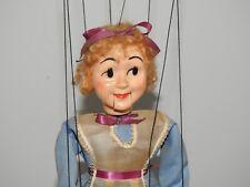 1966 Vintage Alice in Wonderland Marionette by Hazelle Kansas City Disney Doll