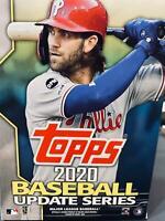 Topps 2020 MLB Baseball Updated Series HANGER BOX   67 CARDS