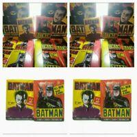 Vintage 1989 Batman Movie Trading Card 4 Wax Pack Lot - BATMAN JOKER - Unopened!
