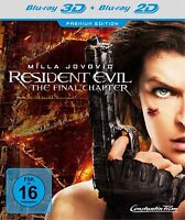 RESIDENT EVIL: THE FINAL CHAPTER (MILLA JOVOVICH,IAIN GLEN,..) 3D 2 BLU-RAY NEUF