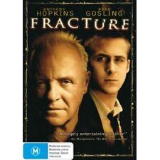 Fracture (DVD 2013) PAL Region 4 (starring Anthony Hopkins, Ryan Gosling) Sealed