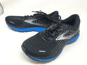 Mens Brooks (1103481D018) Ghost 13 Black/blue Sneakers (420N)