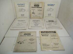 8 - Cub Cadet Tiller RZT Manuals Mowers Tractors Snow Equipment Parts IH  L21