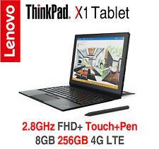 ThinkPad X1 Tablet m5 2.8GHz FHD+ IPS Touch+Pen 8GB 256GB 4G LTE 2Y OS Warranty