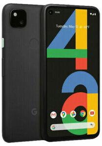Verizon Google Pixel 4a 128GB Black GA02099 VZW Good IMEI  Bat Health 100%