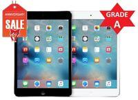 "Apple iPad Mini 2 WiFi, GSM Unlocked, 7.9"" - Gray Silver - 16GB 32GB 64GB 128GB"
