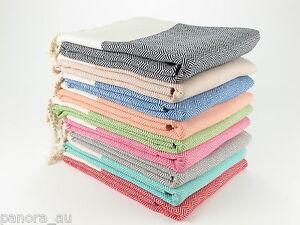 DIAMOND Turkish Towel Peshtemal Sarong Bath SPA Beach Hammam Gym 100% cotton