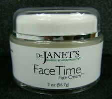 Dr Janet's Face Time Face Cream 2 oz Jar Nature Products Anti Aging Day Night