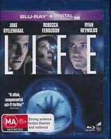Life Blu-ray NEW Region B Jake Gyllenhaal Ryan Reynolds