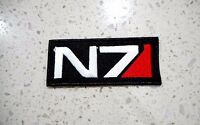 New N7 Military Logo Patches Embroidered Cloth Patch Applique Badge Iron Sew On