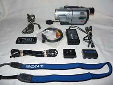 New ListingSony Dcr-Trv730 Digital8 Hi8 8mm Video8 Hi 8 Camcorder Vcr Player Video Transfer