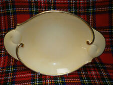 VINTAGE ART DECO COLLECTABLE CARLTON WARE ENGLAND YELLOW & GOLD SERVING PLATE