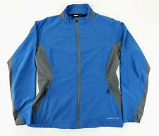 GOLITE Women's Large Blue & Gray Full Zip Polyester Blend Lightweight Jacket