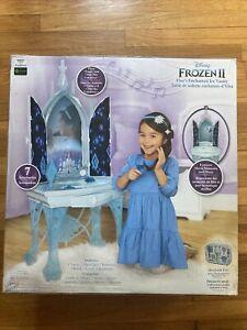 Disney Frozen 2 Elsa's Enchanted Ice Vanity Play Set