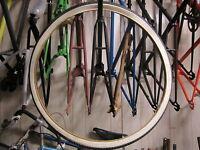 VINTAGE KENDA 28 X 1-1/2 BIKE BICYCLE MOTORCYCLE TIRE NYLON NOS WHITE WALL
