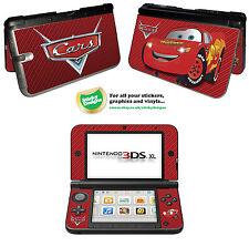 Cars Lightning McQueen Vinyl Skin Sticker for Nintendo 3DS XL