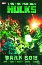 Incredible Hulks Dark Son Premium Hard Cover by Marvel Comics
