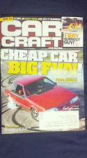 CAR CRAFT MAGAZINE JANUARY 2012