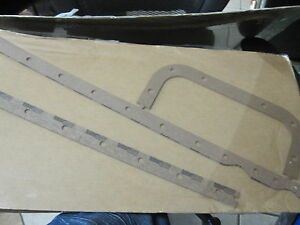 Genuine MTU Detroit DIESEL 5126562 GASKET SET 5126562 OIL PAN TO BLOCK