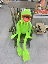 Kermit The Frog Stuffed Plush Jim Henson Muppets Posable Jumbo Vintage With Tag