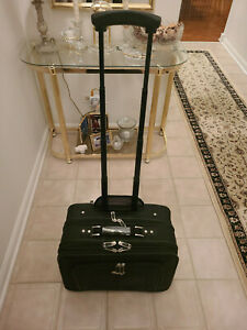 """Samsonite Business One Mobile Office Rolling 17"""" Computer Case"""