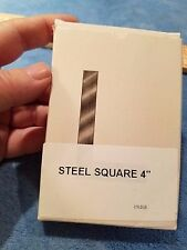 Steel Square, 4 inch blade - new sealed