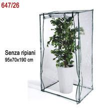 Serra da terrazzo - giardino - balcone VERDELOOK 100x70 h170/190cm TERRAZZA