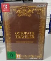 OCTOPATH TRAVELER COMPENDIUM COLLECTOR'S EDITION NUOVO ITALIANO NINTENDO SWITCH