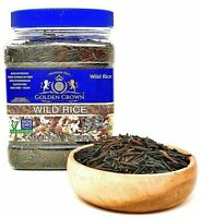 Wild Rice,Non-GMO,Gluten Free,Kosher,High Protein,Low Calories,24 oz,(1.5 Lbs)