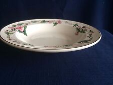 "Villeroy & Boch Palermo 8 5/8"" rimmed soup bowl (very minor scratches)"