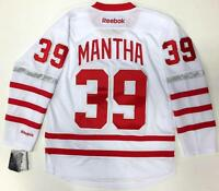 ANTHONY MANTHA DETROIT RED WINGS 2017 CENTENNIAL CLASSIC REEBOK PREMIER JERSEY