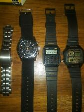 Casio Watch Lot Of 3 Mtp4500 Databank World time