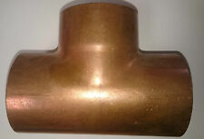 2X TEES - END FEED Equal  76 mm Plumbing