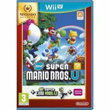 New Super Mario Bros. U + New Super Luigi U Wii U Game Brand New IN Stock