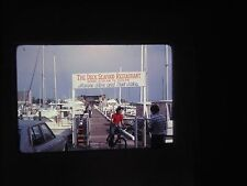 Original slide The Deck Seafood Restaurant Dock Bait Shop Gas Station Pump Boat