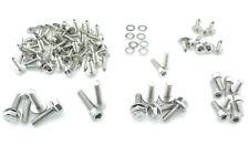 Conjunto completo revestimiento tornillos yamaha aerox MBK nitro acero inoxidable 84 piezas