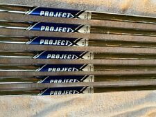Project x 5.5 rifle iron shafts/.355 tip w/golf pride grips/5-SW