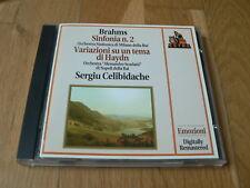 Celibidache - Brahms : Symphony No. 2 - CD Fonit Cetra 1994