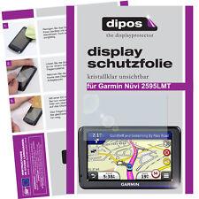 3x Garmin Nüvi 2595 Schutzfolie klar Displayschutzfolie Folie dipos Displayfolie