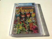 Avengers 154 Cgc 9.6 White Pgs 1St Tyrak Wonder Man Scarlet Witch Vision