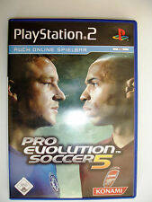 Pro Evelution Soccer 5 Spiel für PlayStation 2