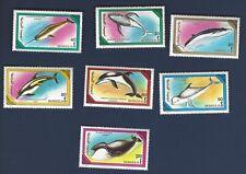 Mongolia WHALES stamp sheet MNH