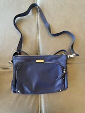 Kate Spade Navy Blue Leather Shoulder Bag New York