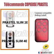 TELECOMMANDE COPIEUSE PRASTEL SLIM 2E SLIM 4E ROLLING CODE PORTAIL GARAGE