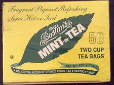 The Boston tea company Mint In Tea 50 2 Cup Tea Bags