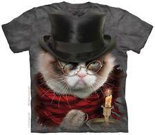 Grumpy Cat Scrooge Plus Size Xmas T-Shirt - Label USA 3XL (Fits AUST 6XL/Sz 28)