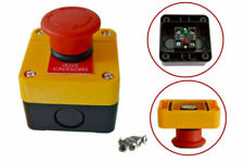 Red Sign Emergency Stop Push Button 660v Switch Control Durable Made