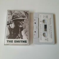THE SMITHS MEAT IS MURDER CASSETTE TAPE 1985 PAPER LABEL ROUGH TRADE UK