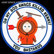 USAF 961st AIRBORNE AIR CONTROL SQUADRON – AWACS KILLED KENNY – MORALE PATCH