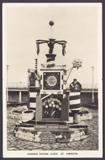 More details for great yarmouth, norfolk. the guinness festival clock. real photo postcard
